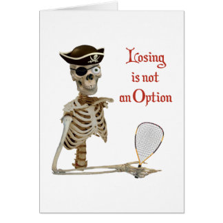 Option Pirate Racquetball Card