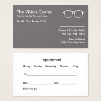 Optometrist And Vision Care