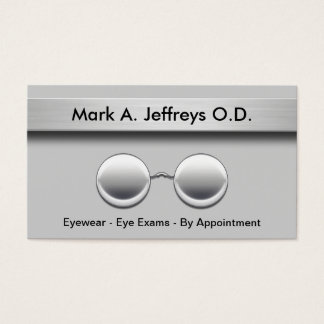 Optometrist Business Cards