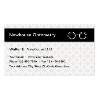Optometrist Business Cards New