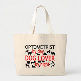 Optometrist Dog Lover Large Tote Bag