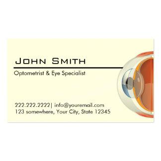 Optometrist Eye Specialist Business Card
