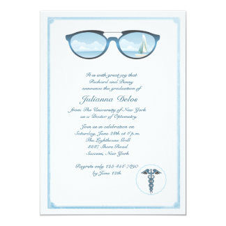 Optometrist Graduation Invitation
