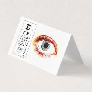 Optometrist Ophthalmologist Eye Destiny Destiny'S Card