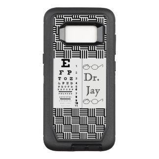 Optometrist Ophthalmologist Eye Destiny Destiny'S OtterBox Defender Samsung Galaxy S8 Case
