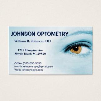 Optometrist /Optometry Business Card