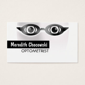 Optometrist Optometry Specialist Business Card