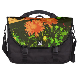 Opulent Orange Daisy Commuter Bag