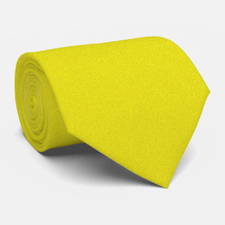 OPUS 1111 Electric Yellow Tie