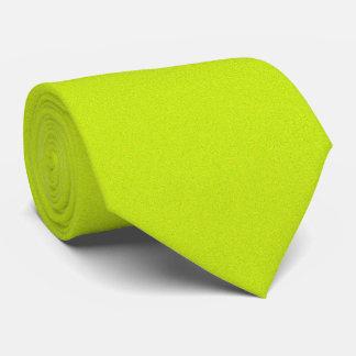 OPUS 1111 Fluorescent Yellow Tie