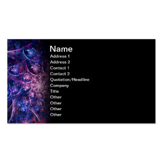 Opus Abstract Fractal Artwork Business Card