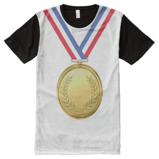 OPUS Champion Gold Medal All-Over Print T-Shirt