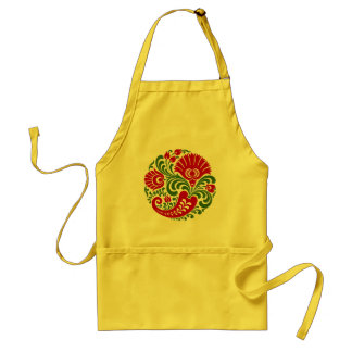 OPUS Hungarian Paprika Flower Embroidery Aprons