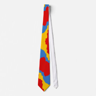 OPUS Perfect Red-Yellow-Blue Clown Palette Tie