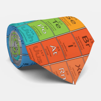 OPUS Periodic Table of the Elements - Double Sided Tie