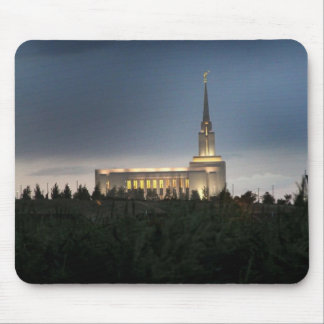 oquirrh mountain lds utah temple mouse pad
