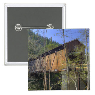 OR Jackson County McKee Covered Bridge 2 Button