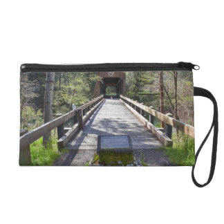 OR, Jackson County, McKee Covered Bridge Wristlet Clutches