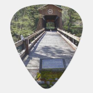 OR, Jackson County, McKee Covered Bridge Guitar Pick