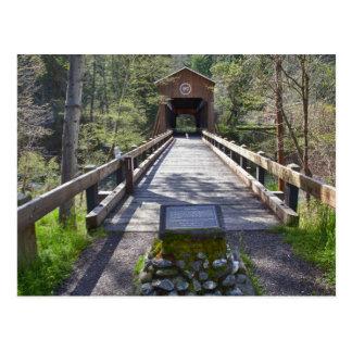 OR, Jackson County, McKee Covered Bridge Postcard