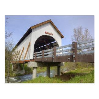 OR, Jackson County, Wimer Covered Bridge Postcard