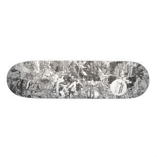 Or Noir by Hannah Stouffer Skate Deck