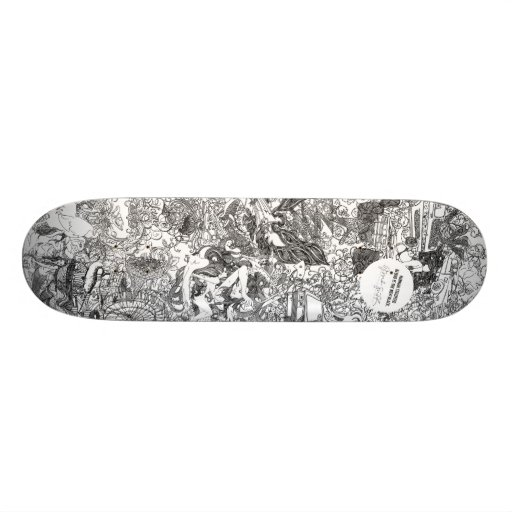 Or Noir by Hannah Stouffer Skateboards