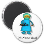 OR Nurses Rock Magnets