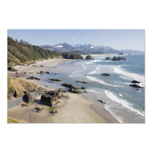 OR, Oregon Coast, Ecola State Park, Crescent 2 Photograph