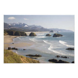 OR, Oregon Coast, Ecola State Park, Crescent Art Photo