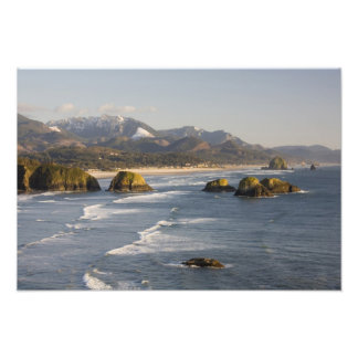 OR, Oregon Coast, Ecola State Park, view of 2 Photograph