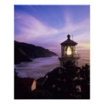 OR, Oregon Coast, Heceta Head Lighthouse, on Poster