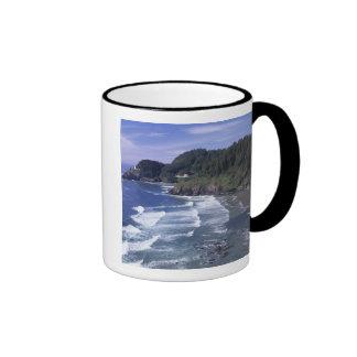 OR, Oregon Coast, Heceta Head Lighthouse, on Ringer Mug