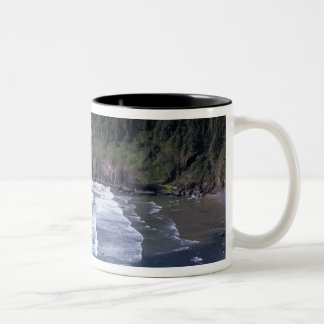 OR, Oregon Coast, Heceta Head Lighthouse, on Two-Tone Mug