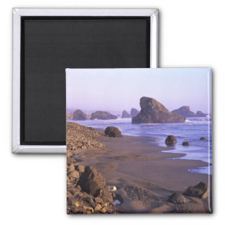 OR, Oregon Coast, Myers Creek, rock formations Magnet