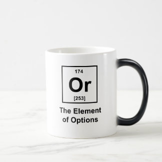 Or, The Element of Options Coffee Mug