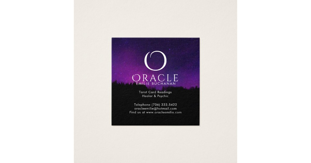Oracle and Psychic Business Cards | Zazzle.com.au