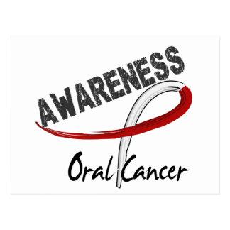 Oral Cancer Awareness 3 Postcard