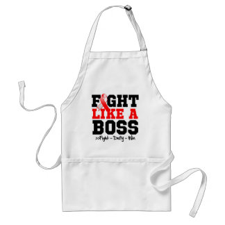 Oral Cancer Fight Like a Boss Aprons