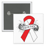 Oral Cancer Find A Cure Ribbon Buttons