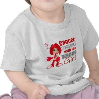 Oral Cancer Messed With Wrong Girl.png Tee Shirt