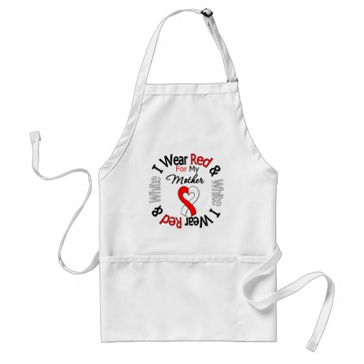 Oral Cancer Ribbon Support Mother Aprons
