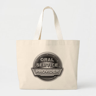 Oral Service Provider Jumbo Tote Bag
