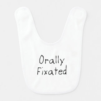 Orally Fixated Baby Bibs