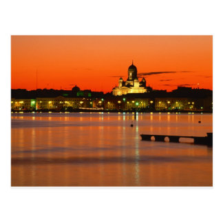 Orang wilight, Helsinki, Finland Postcard