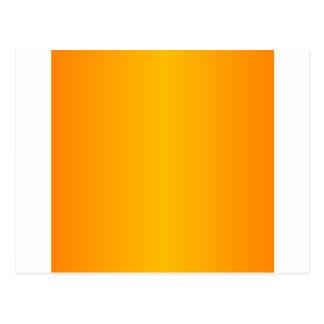 Orange 1 - Orange and Amber Gradient Postcard