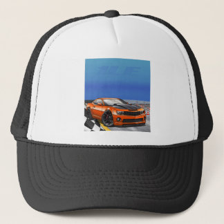 Orange_1LE Trucker Hat
