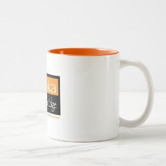 Orange 2-tone 11 oz mug