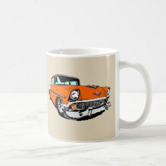 Orange '56 Shoebox Coffee Mug