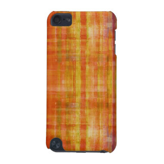 Orange Abstract Art Striped Pattern iPod Touch Cas iPod Touch 5G Case